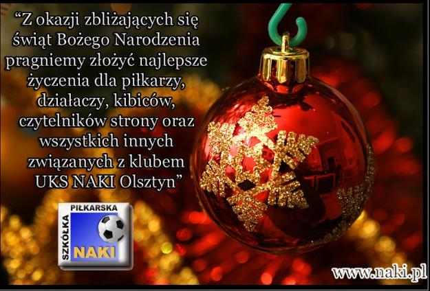 Życzenia Świąteczne.   Naki.pl